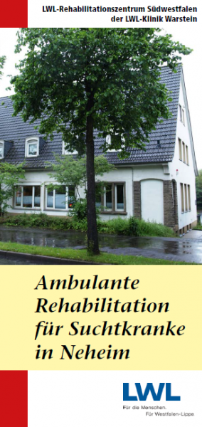 Ambulante Rehabilitation für Suchtkranke in Neheim (LWL-Rehabilitationszentrum Südwestfalen)