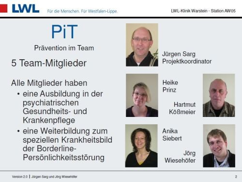 Station AW05 / PW05: Präsentation PiT - Coaching-Angebot