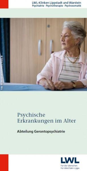Psychische Erkrankungen im Alter (Abt. Gerontopsychiatrie der LWL-Kliniken Lippstadt und Warstein)