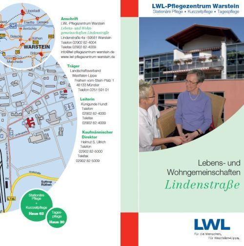 Lebens- und Wohngemeinschaften Lindenstraße - Informationen zum LWL-Pflegezentrum Warstein