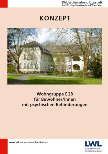 Wohngruppe E28 für Bewohner/-innen mit psychischen Behinderungen (LWL-Wohnverbund Lippstadt)