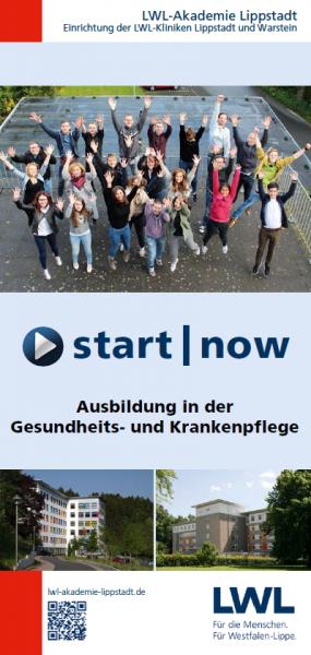 Informationen zur Pflegeausbildung an den LWL-Kliniken Lippstadt und Warstein