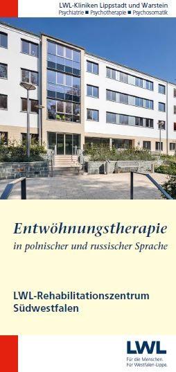 [deutsche Sprache] Entwöhnungstherapie für Aussiedler (polnisch/russisch - LWL-Rehabilitationszentru